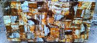 Petrified Wood Banded Slabs