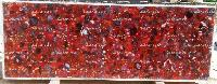 Red Chalcedony Slabs