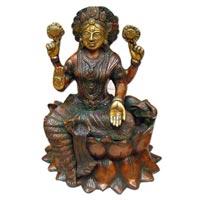 Brass Saraswati Statue-01