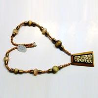 Horn & Bone Necklace 01