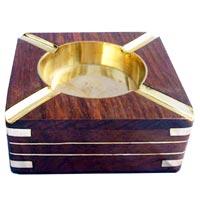 Wooden Ashtray 09