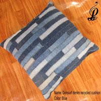Densurf Denim Recycled Cushion (Blue)