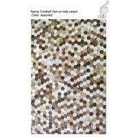 Football Hair-on Carpet (Assorted)