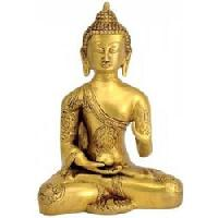 Brass Buddha Statue 06