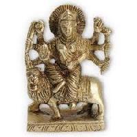 Brass Durga Statue 04