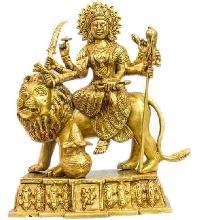 Brass Durga Statue 06