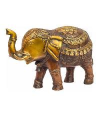 Brass Elephant Statue 05