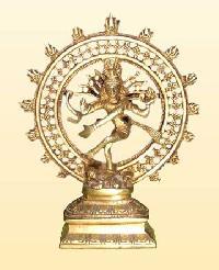 Brass Nataraja Statue 01