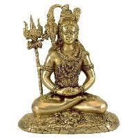 Brass Shiva Statue 01