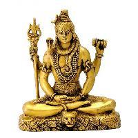 Brass Shiva Statue 02