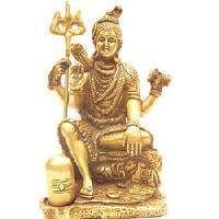Brass Shiva Statue 03