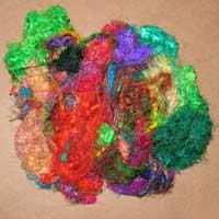 Recycled Silk Fibers 02