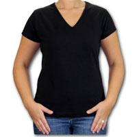 Ladies V Neck T-Shirt 03