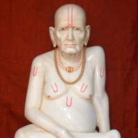 Marble Akkalkot Swami Statues