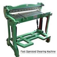 Shearing Machine Foot Operated