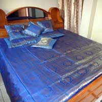 Jacquard Zari Bed Sheet