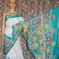 Cotton Batik Sarees