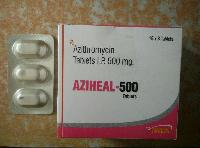 Aziheal 500 Tablets