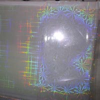 Transperent Holographic Cold Transfer Foil HRI 3
