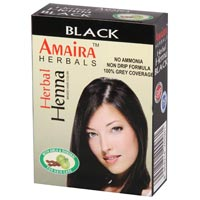 Black Amaira Henna Hair Color