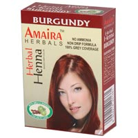 Burgundy Amaira Henna Hair Color