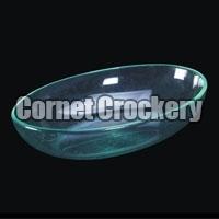 Acrylic Oval Bowl