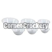 Acrylic Round Bowls