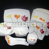Flower Design Dinner Set