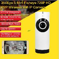 360 Fisheye Wireless IP Camera