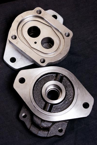 Hydraulic Pump Flanges