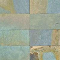 Green Rustic Slate Stone