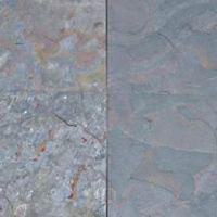 Multicolor Peacock Slate Stone