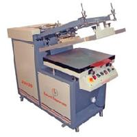 Semi Auto Flat Screen Printing Machine