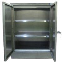 Stainless Steel Modular Double Door Cabinets