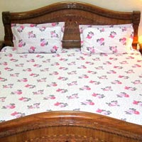 Cotton Printed Bed Sheet 02