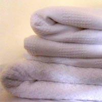 Cotton White Blanket