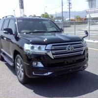 2016 Toyota Landcruiser RHD VDJ200 Car (Black)