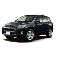 Black Toyota RAV4 RHD Car