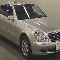 Used 2005 Mercedes S350 LHD Car