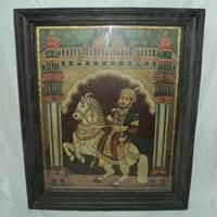 Chhatrapati Shivaji Maharaj Tanjore Painting