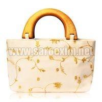 Wooden Handle Handbags