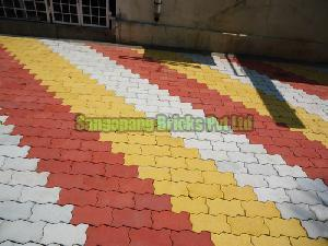 Coloured Pavers 01