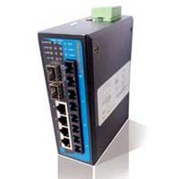 Industrial DIN-Rail Managed Ethernet Switch (4TP+4F+4G)