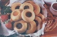 Coconut Jam Cookies
