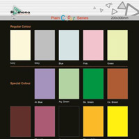 Plain Color Series Tiles