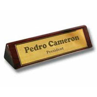 Brass Name Plate 03