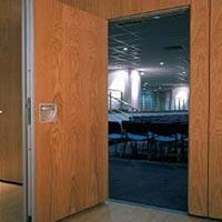 Acoustical Wall Panel Door