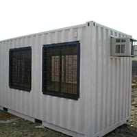 Portable Office Cabin Fabrication