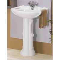 Prince Pedestal Wash Basin