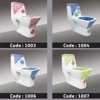 Designer One Piece Toilet 01